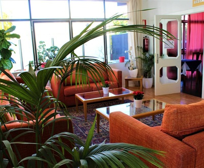 Lobby Hotel Marbel