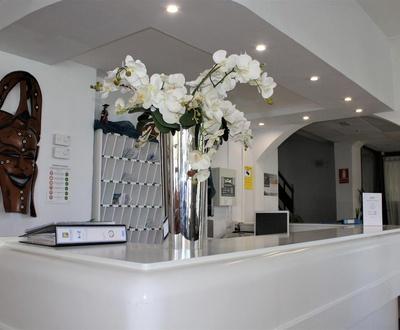 Recepción Hotel Marbel